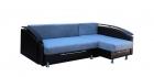 """Угловой диван """"Ассамблея Z-8"""" с длинным подлокотником (Тик-Так, Мягкие подушки)"""