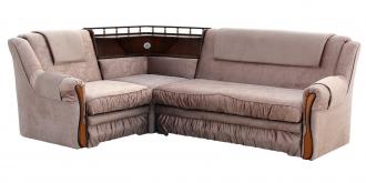 """Угловой диван """"Ассамблея 2"""" с баром"""