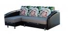 """Угловой диван """"Ассамблея Z-8"""" с длинным подлокотником (Без механизма, Формованные подушки)"""